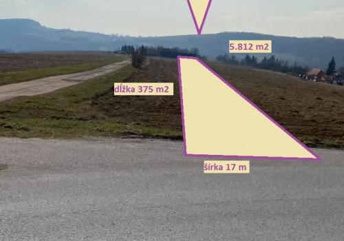 Na predaj slnečný pozemok v Drgoňovej Doline - 5.812 m2